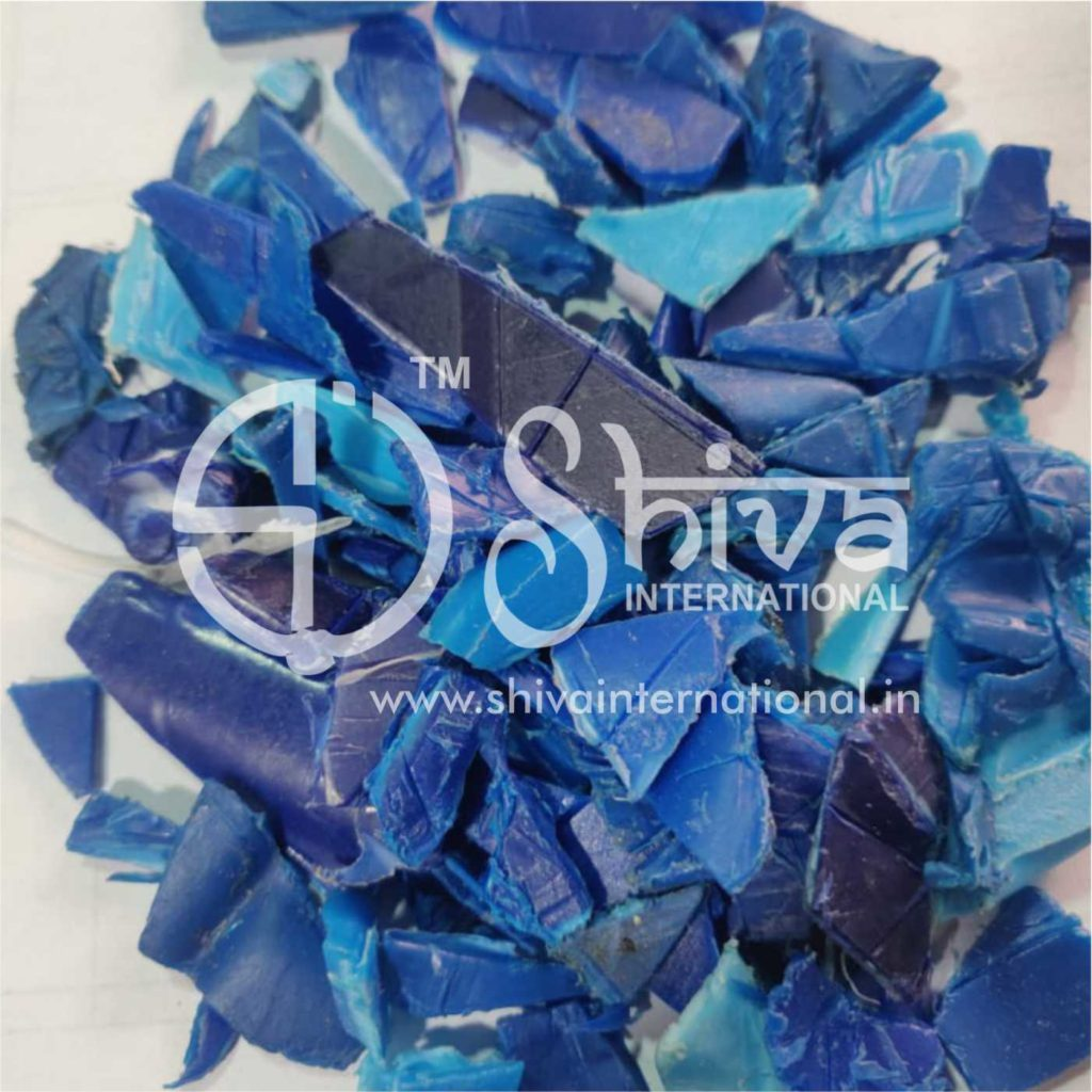 hdpe blue regrind